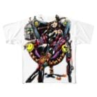 Studio MOONの神様(カラー版) Full graphic T-shirts
