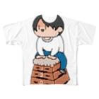 こんぶの跳び箱 Full graphic T-shirts