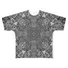 黒髭工房のAs impulse Full graphic T-shirts