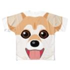 kimchinのかわいい柴犬 Full graphic T-shirts