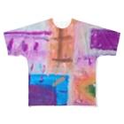 GreenRoseの個性豊かに Full graphic T-shirts