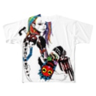 Studio MOONのマグナムガール Full graphic T-shirts