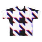TATEYAMAのhoundtooth6 Full graphic T-shirts