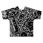 クッキーのBlank Canvas Full graphic T-shirts