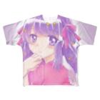 ✡️さしみ✡️のきゅん。 Full graphic T-shirts
