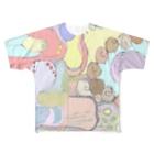 【Yuwiiの店】ゆぅいーの模様 Full graphic T-shirts