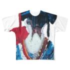 tonerinohitoの後ろ姿 Full graphic T-shirts