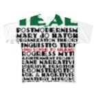 TEALのOrganizational theory Full graphic T-shirts