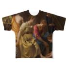 Art Baseのディアナとニンフたち / フェルメール(Diana and her Companions 1654) Full graphic T-shirts