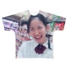 いときちの変顔のるんちゃん Full graphic T-shirts
