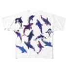 𓅪 cula 𓇽のオルカ乱舞 Full graphic T-shirts