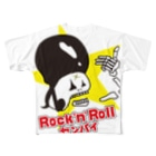 beef&strawberryのRock 'n' Rollセンパイ Full graphic T-shirts