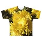 SHIMSHIMPANのたんぽぽだ~ Full graphic T-shirts
