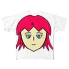 ヒロさんのグッズのタコちゃん Full graphic T-shirts