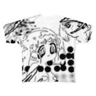 コウノあすミの🖤🖤🖤 Full graphic T-shirts