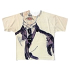 Art Baseのエゴン・シーレ / 1917 / Portrait of Karl Maylander / Egon Schiele Full graphic T-shirts