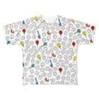 chaki-2のバルーンチャキくん Full graphic T-shirts