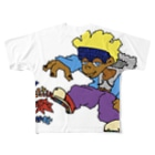 7dimensionsのbefore me Full graphic T-shirts