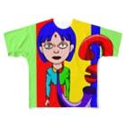 リクトの絵のりくとの絵 Full graphic T-shirts