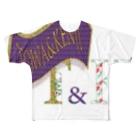 T&KのT&K  THE 和 Full graphic T-shirts