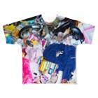 VULGAR FACTORYのゴ☆ミ Full graphic T-shirts