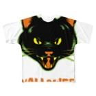 gemgemshopのニャロウィン Full graphic T-shirts