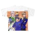 momotakaizokudanのもも太海賊団 男子メンバーグッズ Full graphic T-shirts