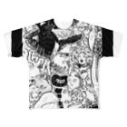 生活学習の滅亡王国 Full graphic T-shirts