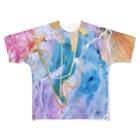 lalasandiegoのpalette.2(縦ver.) Full graphic T-shirts