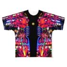 VULGAR FACTORYの卍卍極neon道卍卍 Full graphic T-shirts