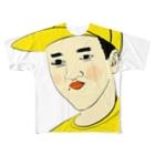 YUBESHIのつうこうにん Full graphic T-shirts