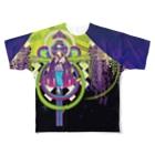 ULIの二季草 Full graphic T-shirts