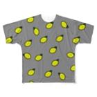 みっきーのレモングレー🍋 Full graphic T-shirts