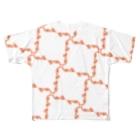 jaguchi4mのアマエビ Full graphic T-shirts