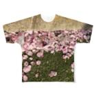 SZUKIの桜の中で Full graphic T-shirts