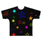 Mr/MonkeyyyのFull Of Stars Full graphic T-shirts