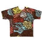 gimachiの柄2 Full graphic T-shirts