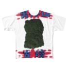安里アンリの古墳グッズ屋さんの男体山古墳(太田天神山古墳) Full graphic T-shirts