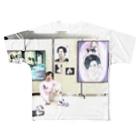 伸海明のNOBUAKI WORLD Full graphic T-shirts