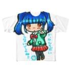 *あり*の虹色創世記のせれな単体(みくさんコラボ) Full graphic T-shirts