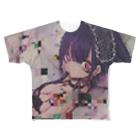 いるるちゃん屋さん(iruruchanyasan)の破棄メイド Full graphic T-shirts