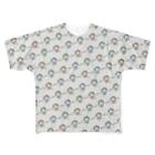劇団ノーミーツのオツハタ(いっぱいのオツハタ) Full graphic T-shirts