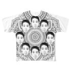 ヤマト総会公式のヤマト総会-曼荼羅-フルグラ Full graphic T-shirts
