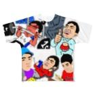 mmmoooのスタンプ Full graphic T-shirts