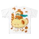 toshimaruのパンキング行進 Full graphic T-shirts