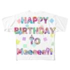 ℃rea°のHBD TO Meeee!! Full graphic T-shirts