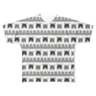 51-86のはちまるパターン Full graphic T-shirts