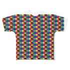 Yamachan0201のレインボー Full graphic T-shirts