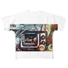 虚構商店のジゴクTV Full graphic T-shirts