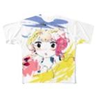 utouto_petalのらくがき Full graphic T-shirts